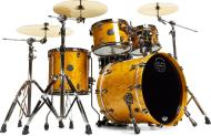 Mapex SV504XB Saturn V MH Exotic Club Fusion Shell Pack (Amber Maple Burl)