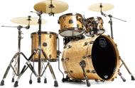 Mapex SV504XB Saturn V MH Exotic Club Fusion Shell Pack (Natural Maple Burl)