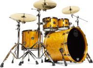 Mapex SV529XEB Saturn V MH Exotic Sub Wave Shell Pack (Amber Maple Burl)