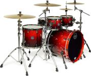 Mapex SV529XUB Saturn V MH Exotic Sound Wave Shell Pack (Cherry Mist Maple Burl)