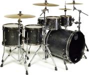 Mapex SV628XB Saturn V MH Exotic Fusion Twin Shell Pack (Flat Black Maple Burl) - Special Order