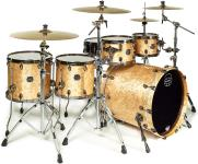 Mapex SV628XB Saturn V MH Exotic Fusion Twin Shell Pack (Natural Maple Burl) - Special Order
