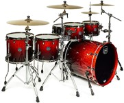 Mapex SV628XEB Saturn V MH Exotic Sub Wave Twin Shell Pack (Cherry Mist Maple Burl)