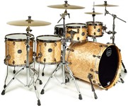 Mapex SV628XEB Saturn V MH Exotic Sub Wave Twin Shell Pack (Natural Maple Burl)
