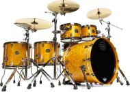 Mapex SV628XUB Saturn V MH Exotic Sound Wave Twin Shell Pack (Amber Maple Burl)