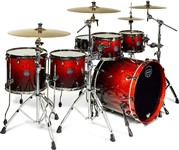Mapex SV628XUB Saturn V MH Exotic Sound Wave Twin Shell Pack (Cherry Mist Maple Burl)