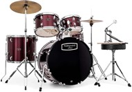 Mapex TND5294FTC Tornado 5 Piece Beginners Rock Kit (Burgundy)