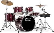 Mapex TND5844FTC Tornado Compact Complete Kit (Burgundy)