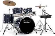 Mapex TND5844FTC Tornado Compact Complete Kit, Royal Blue