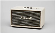 Marshall Lifestyle Acton Active Stereo Bluetooth Speaker, Cream