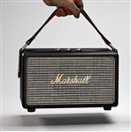 Marshall Lifestyle Kilburn Portable Stereo Bluetooth Speaker, Black