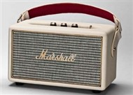 Marshall Lifestyle Kilburn Portable Stereo Bluetooth Speaker, Cream
