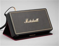 Marshall Lifestyle Stockwell Portable Bluetooth Speaker with Flip Cover