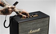 Marshall Lifestyle Woburn Active Stereo Bluetooth Speaker, Black