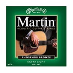 Martin M530 Traditional 92/8 Phosphor Bronze Acoustic Guitar Strings Extra Light (.010-.047)