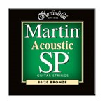 Martin MSP3000 SP 80/20 Bronze Acoustic Guitar Strings Extra Light (.010-.047)