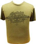 Martin Americas Guitar T-Shirt Military Green