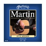 Martin M150 Traditional 80/20 Bronze Acoustic Strings, Medium, 13-56