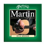 Martin M170 Traditional 80/20 Bronze Acoustic Strings, Extra Light, 10-47