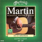 Martin M180 Traditional 80/20 Bronze Acoustic, 12-String, Extra Light