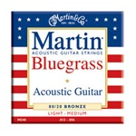 Martin M240 Traditional 80/20 Bronze Acoustic Strings, Bluegrass, 12-56
