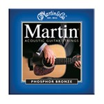 Martin M550 Traditional 92/8 Phosphor Bronze Acoustic Guitar Strings Medium (.013-.056)