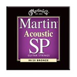 Martin MSP3050 SP 80/20 Bronze Acoustic Guitar Strings Custom Light (.011-.052)