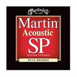 Martin MSP3100 SP 80/20 Bronze Acoustic Guitar Strings Light (.012-.054)