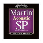 Martin MSP4050 SP 92/8 Phosphor Bronze Acoustic Guitar Strings Custom Light (.011-.052)