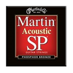 Martin MSP4100 SP 92/8 Phosphor Bronze Acoustic Guitar Strings Light (.012-.054)