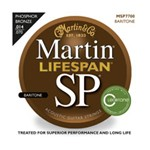 Martin MSP7700 Lifespan SP 92/8 Phosphor Bronze Acoustic Strings Baritone (.014-.070)