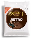 Martin MM13 Medium Light Retro Monel Acoustic Strings (13-56)