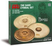 Meinl Byzance Vintage Sand Cymbal Set Main