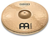 Meinl Classics Custom Powerful Hi-Hats (14in)
