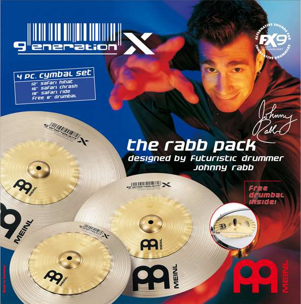 Meinl Generation X Johnny Rabb