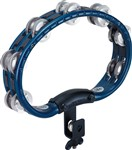 Meinl Mountable ABS Tambourine (Traditional, Aluminium Jingles, Blue)
