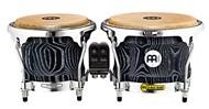 Woodcraft Wood Bongos, Vintage black