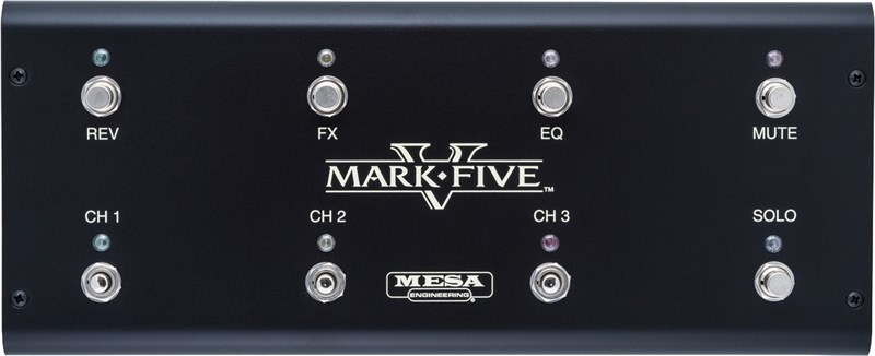 Mesa Boogie Mark V Footswitch Front
