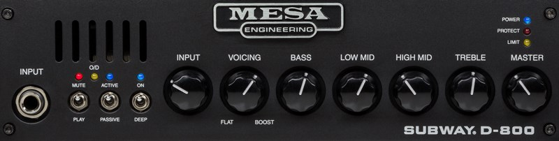 Mesa Boogie Subway D-800 Front