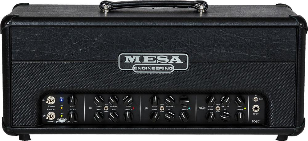 Mesa Boogie Triple Crown TC-50 Head Front
