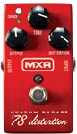 MXR M78 Custom Badass '78 Distortion Pedal