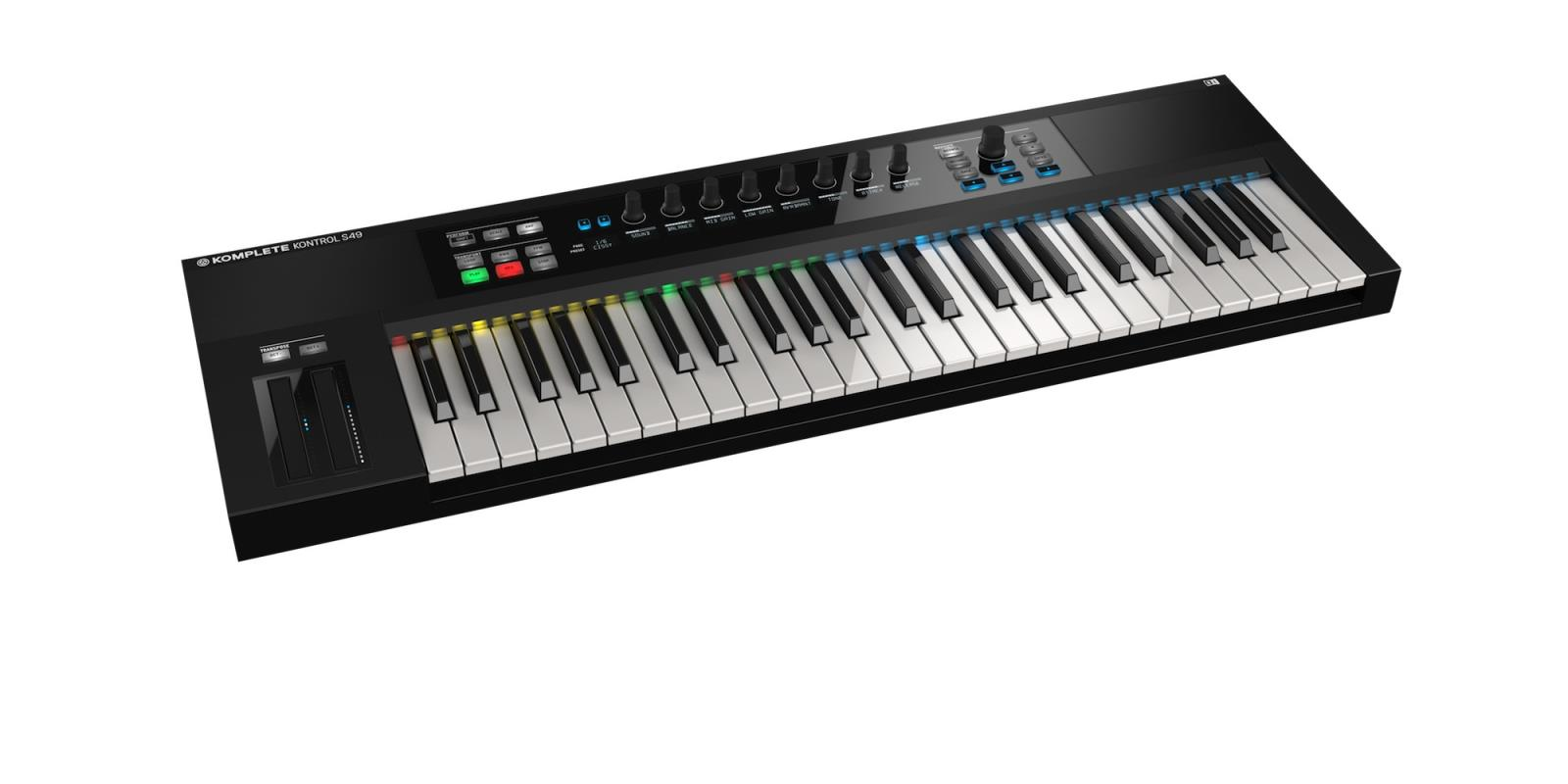 komplete kontrol s49 native instruments komplete kontrol. Black Bedroom Furniture Sets. Home Design Ideas
