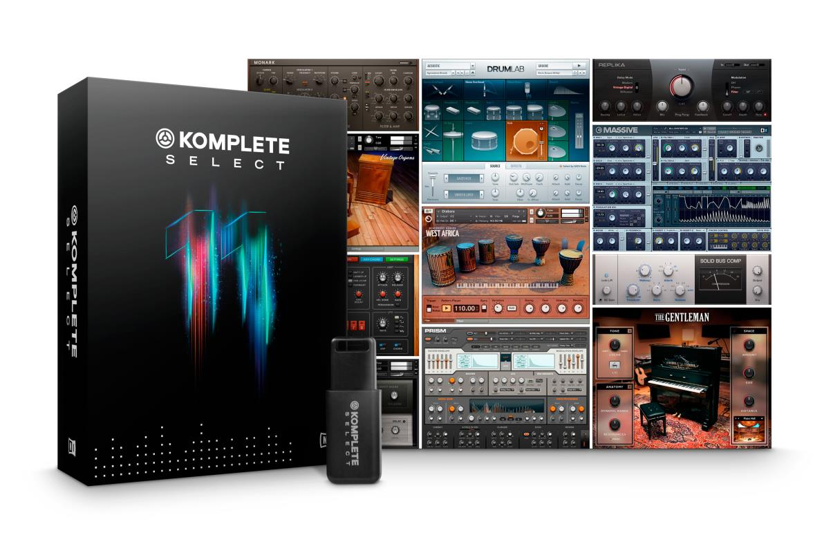 Komplete Select Box, contents, pack
