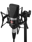 Neumann TLM 102 Studio Microphone with Shockmount Set (Black)