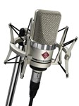 Neumann TLM 102 Studio Microphone with Shockmount Set (Nickel)