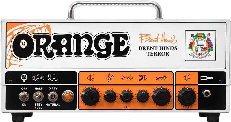 Orange BHT Brent Hinds Terror Front