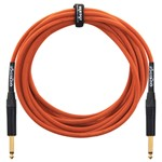 Orange Instrument Cable, 10ft/3m
