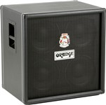 Orange OBC410 4x10 Bass Cabinet, Black