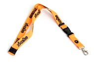 Orange Lanyard, 20mm