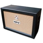 Orange PPC212OB 120W 2x12 Open Back Cab, Black
